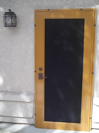 Security Screen Doors Fresno